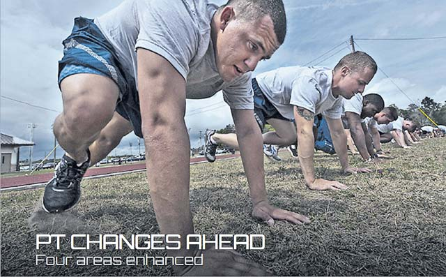 AF announces PT test enhancements to start Oct. 1
