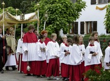 Courtesy photosSolemn processions proceed through many towns and villages in the KMC on Corpus Christi Day.