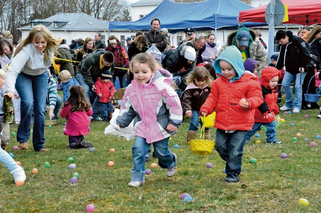 Easter brings a special twist to Baumholder children