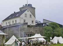 Courtesy photoMedieval groups present the life of the Middle Ages in camps located on the bottom of the moated castle in Reipoltskirchen Saturday and Sunday.