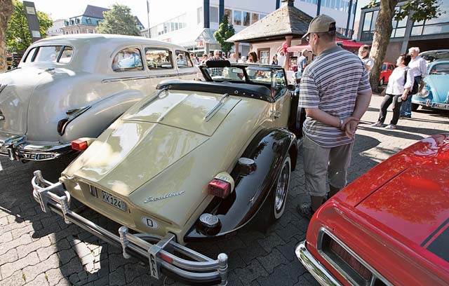 Photo by City of KaiserslauternVarious kinds of vehicles are on display during Kaiserslautern Classics Saturday.