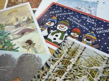 Christmas cards originated in England