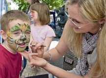 Courtesy photosChildren can have their faces painted during the Kaiserslautern children's fest Saturday.