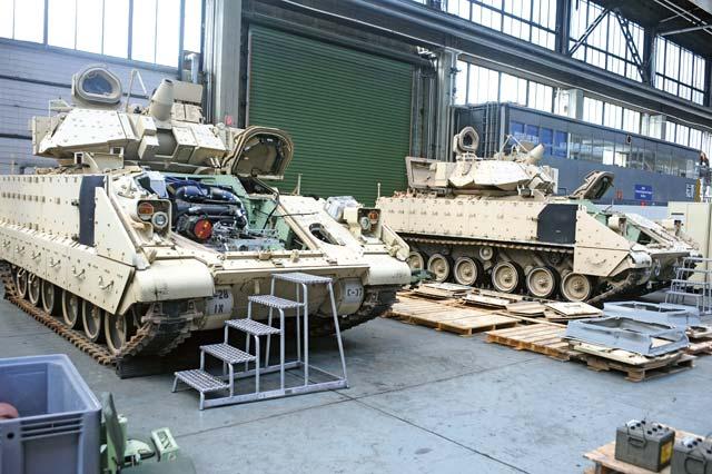 End Of An Era Final Heavy Bct Bradleys Depart Germany