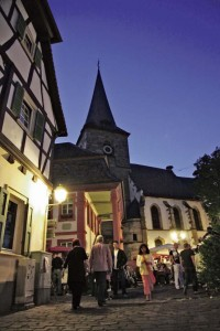 Courtesy photosVisitors at the Freinsheim Alstadtfest enjoy the medieval surroundings Thursday to June 1.