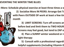 Seasonal Affective Disorder? Fight the wintertime blues with these tips