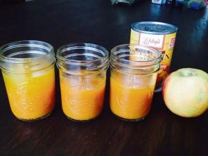 Jarred Apple Pumpkin Soup