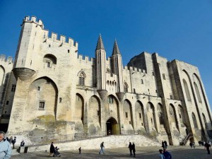 For more than 100 years, the papacy was located in the city of Avignon.