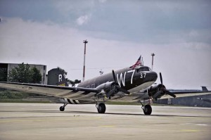 Courtesy photoThe C-47 Skytrain is the same type of aircraft flown by both William Prindible and Julian Rice on D-Day. Prindible and Rice were part of the former 37th Troop Carrier Squadron and are among the last few pilots alive to give an accurate portrayal of the events that happened June 6, 1944.