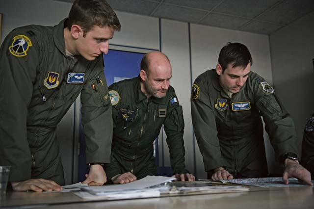 Ramstein Airmen train with French air force