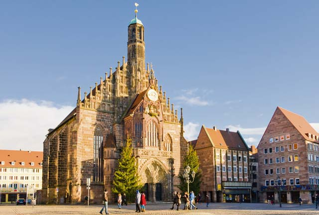 Photo courtesy of Valerie Potapova/Shutterstock.comThe Nuremberg Easter Market is open through Monday in front of the famous Frauenkirche. The market features more than 80 stalls selling everything from household goods, to arts and crafts, to homemade foods.