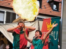 Courtesy photosJugglers present their skills during the medieval fest in Annweiler.