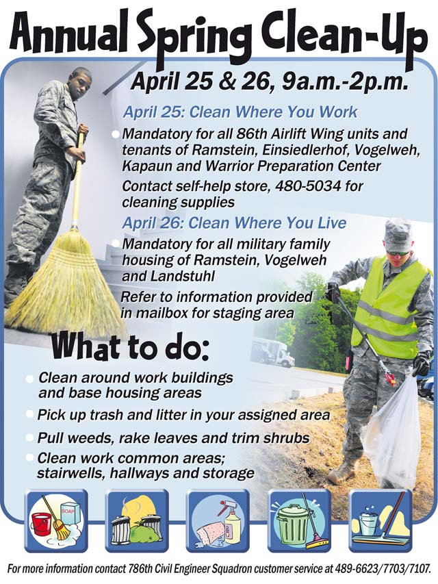 team kmc to participate in annual mass spring cleaning