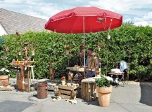 Courtesy photo  Vendors along the car-free route on country road L379 sell a variety of merchandise, including art and craft items Sunday.