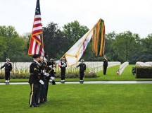 21st TSC Soldiers honor the fallen