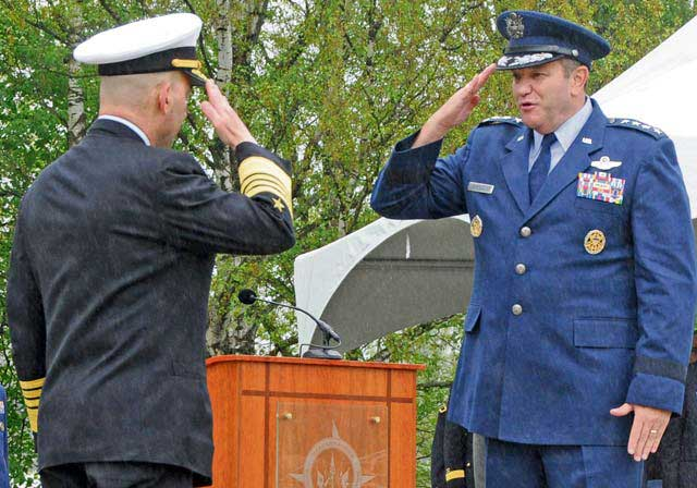 Breedlove assumes top command in Europe