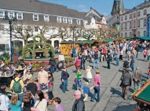 Courtesy photoThe Easter market in Sankt Wendel lures visitors with many attractions.