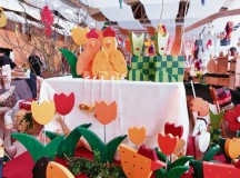 Courtesy photosThe annual Easter market in Niederkirchen offers a variety of Easter items and decorations in the local community hall.