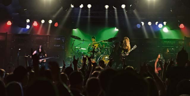 The Black Label Society plays a free concert for service members and their families March 17 on Ramstein. After touring through Europe, the band put on a free concert and did a meet-and-greet at the Kaiserslautern Military Community Center for Team Ramstein.