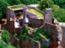 Courtesy photos Nanstein Castle in Landstuhl is the stage for the castle event days Thursday through May 10.