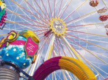 Courtesy photo by City of Kaiserslautern The May carnival offers a wide variety of rides and vendor's booths today through June 8 on Kaiserslautern's Messeplatz fairgrounds.