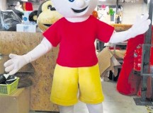 Courtesy photo The Mom/Dad has Cancer association is looking for a name for its mascot. The baptism ceremony takes place after the charity run on Sunday.