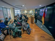 University of Mainz students visit Ramstein