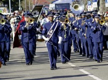 Courtesy photo The U.S. Air Forces in Europe Band is one of many music groups performing during the annual Fasching parade in Ramstein-Miesenbach, which takes place Feb. 8 this year.