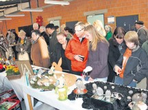 Courtesy photo Each year, the Easter egg market in Siegelbach lures plenty of interested visitors to the Westpfalz Werkstaetten.