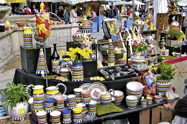 Courtesy photos The annual ceramics market in Homburg takes place Saturday and Sunday and presents a lot of everyday items.