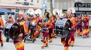 """Courtesy photoMusic bands and walking acts entertain the visitors at the spring event """"Lautern bursts into bloom"""" taking place Saturday and Sunday in Kaiserslautern."""