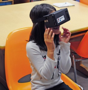 Sembach students experience virtual reality
