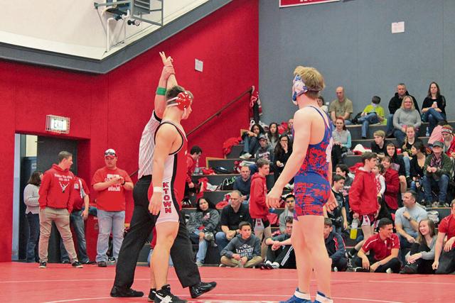 KHS wrestles for the win