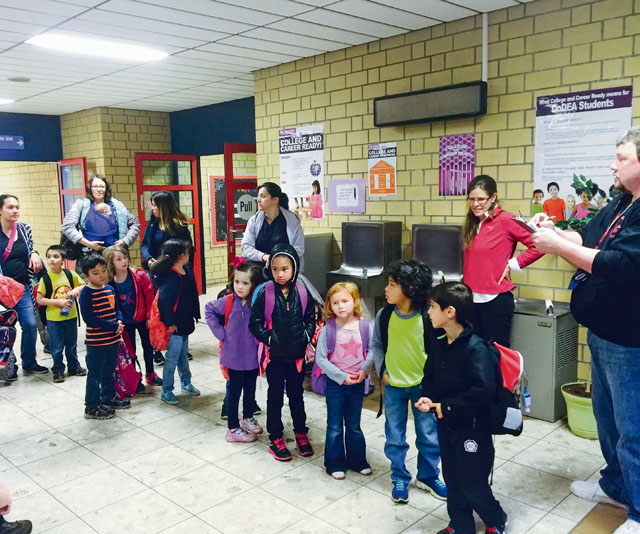 VES welcomes Incirlik students
