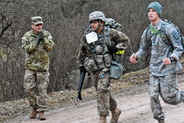 Allied medics claim badge of honor