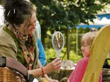 Courtesy photos Children can get their faces painted during the medieval market Saturday and Sunday in Reipoltskirchen.