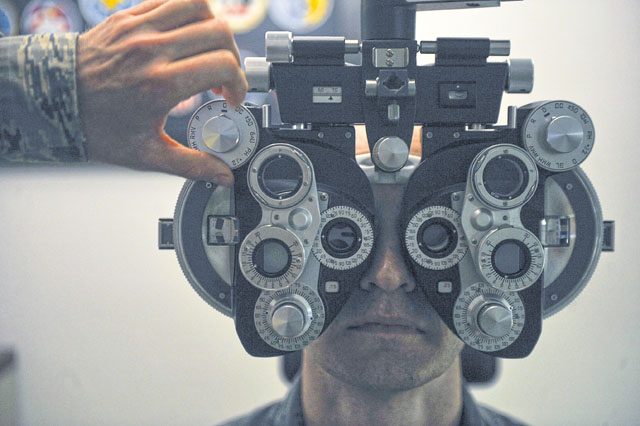 86th AMDS optometry Airmen keep Ramstein sights clear