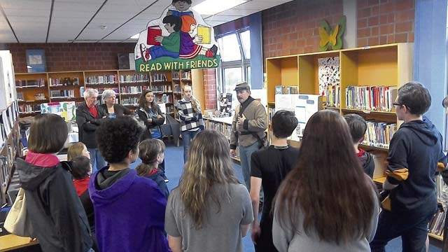 LEMS students learn about US Civil War