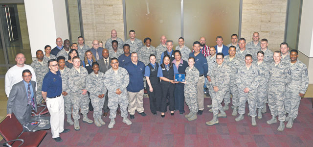 786th FSS lodging recognized for supporting Turkey dependents