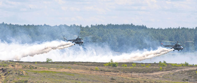 4th ASOG Airmen join allies, test firepower