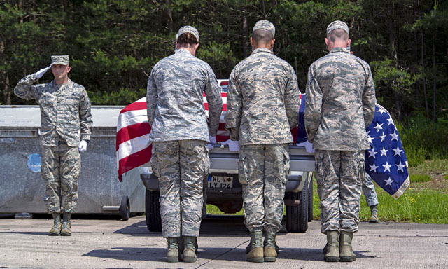 Honor Guard Airmen sharpen skills, graduate course