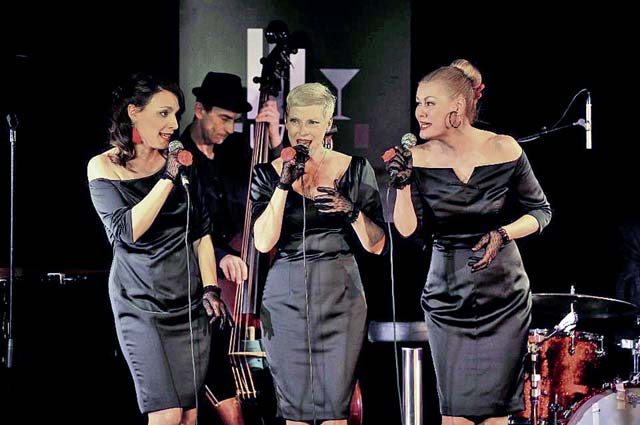 Courtesy photoThe female Sweet System Trio presents its repertoire from modern jazz to pop tonight during the Burg Jazz Festival at Nanstein Castle in Landstuhl.