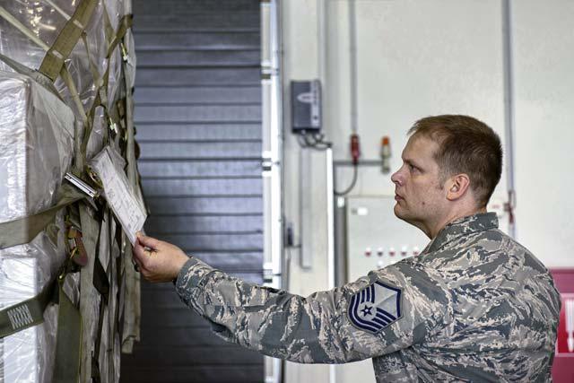 721st Aerial Port Squadron stays safe on job