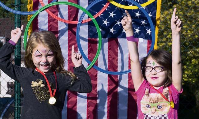 KMC members enjoy Olympic Family Night