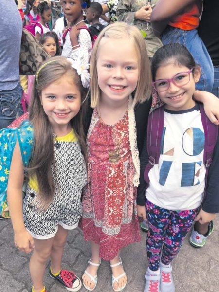 VES celebrates first day of school