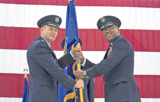 Clark takes command of 3rd Air Force