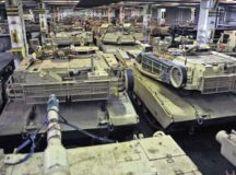 Military vehicles from 3rd Armored Brigade Combat Team, 4th Infantry Division, roll off the ship ARC Resolve Jan. 6 in Bremerhaven, Germany, marking the beginning of back-to-back rotations of armored brigades in Europe as part of Atlantic Resolve. The vehicles and equipment, totaling more than 2,700 pieces, will be shipped to Poland for certification before deploying across Europe for use in training with partner nations.