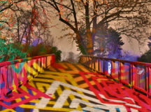 "Courtesy photo Mannheim's Luisenpark presents winter lights Luisenpark in Mannheim presents ""Winter Lights"" through Feb. 26. Trees, bushes, bridges, statues, fountains and other objects are illuminated from 6 to 9 p.m. Sundays through Thursdays, and 6 to 10 p.m. Fridays and Saturdays. Two illuminated routes lead through the park passing a fountain area where food will be offered. Visitors can admire flying light objects, twinkling items and projections on walls and water surfaces. Admission fee is €6 for adults and €3 for children. The main entrance is at Theodor-Heuss-Anlage 2 in Mannheim."