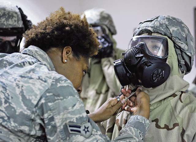 Airmen participate in CBRN defense course - Kaiserslautern American