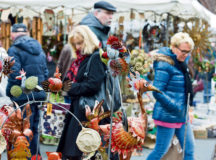 Photo courtesy of the city of Kaiserslautern Visitors of the spring market, which takes place Saturday and Sunday in Kaiserslautern, will find a variety of art and craft items for Easter.
